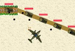 Удар с неба - самолеты