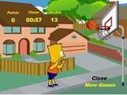 Баскетбол с Бартом Симпсон…