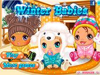 Зимний уход за малышом